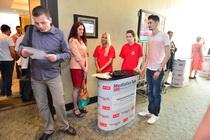 Standurile ONG-urilor finanțate de fundația Vodafone România prin programul Mobile for Good