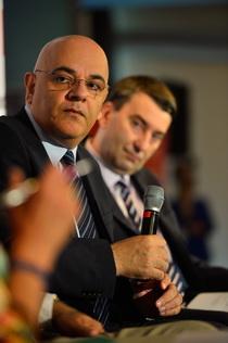 Dr. Raed Arafat și Cristian Dimitriu - Director Mediafax Group